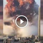 Letupan Misteri Di Lubnan. Netizen Kongsi VIDEO NGERI