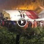 Air India Express Terbelah Dua Semasa Mendarat. 17 Maut. Ada VIDEO.