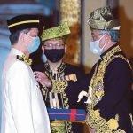 YDP Agong Kurnia Gelaran Tan Sri Kepada Dr Noor Hisham