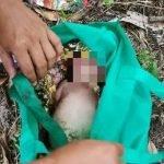 Penduduk Kampung Temui Bayi Perempuan Dalam Beg.