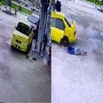 (Video) Curi Kereta Di Pam Minyak, Suspek Berjaya Diberkas