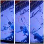 Kejam. CCTV Rakam Lelaki Hempas Kucing Ke Lantai