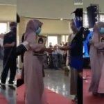 SEBAK. Video Ibu Wakil Arwah Anak Ke Majlis Konvokesyen .