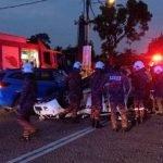 Anggota Polis Maut Kejar Penjenayah. Kereta Suspek Sudah Ditemui Polis