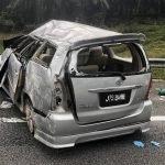 Isteri Maut Manakala Empat Anak Cedera Parah Di LPT2