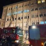 Hospital Terbakar, 10 Pesakit Covid-19 Maut
