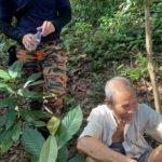 Lepas 2 Hari Tak Pulang Rumah Akhirnya Ditemui Dlm Hutan.