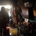 Ibu Dan Anak Panik Terperangkap Dalam Kebakaran