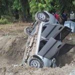 Lelaki Maut Kereta Terbabas Dalam Parit