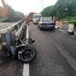 Motosikal Terbabas, Polis Bantuan Maut Digilis