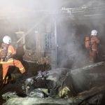 4 Kenderaan Mewah Milik Ahli Perniagaan Musnah Dalam Kebakaran