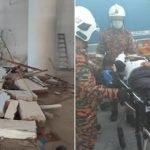 Dihempap Dinding Konkrit, Pekerja Bangladesh Cedera