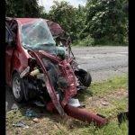 MPV Rempuh Lori, Peniaga Maut Kemalangan