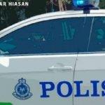 Warga Asing Campak Duit Rasuah Dalam Kereta Polis