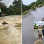 4 Lelaki Dan Seorang Kanak-Kanak Hampir Lemas Ketika Hantar Bantuan.