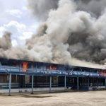 Ibu Pejabat Polis Daerah Belaga Terbakar