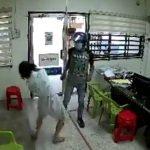 Samun Kedai Insurans, Dua Lelaki Dicekup