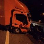 Pemandu Lori Cedera Parah Tercampak Bawah Jejambat