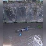 Mayat Lelaki Ditemui Dalam Longkang