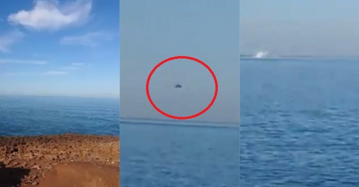 Video Detik-Detik Akhir Helikopter Tentera Terhempas Ke Dlm Laut.