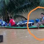 Lelaki Lemas Ketika Bantu Mangsa Banjir