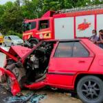 Seorang Wanita Maut Dan 5 Cedera Dalam Kemalangan.