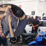Polis Tendang Motosikal. Ini Penjelasan Pihak Polis.