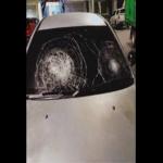Berang Hotel Penuh, Lelaki Mengamuk Pecahkan Cermin Kereta