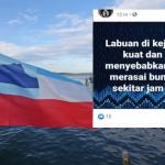 Penduduk Sabah Digemparkan Bunyi Letupan Dan Gegaran Yang Kuat.