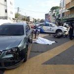 Seorang Lelaki Maut Motosikal Dilanggar Kereta