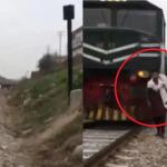 Seorang Lelaki Maut Dilanggar Kereta Api Ketika Rekod Video.