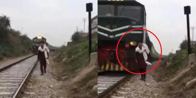 Dilanggar Keretapi