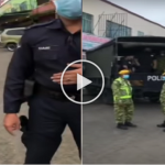 (VIDEO) Ekori Dan Rakam Polis Bertugas, Ketika Ditahan Lihat Apa Lelaki Ini Lakukan