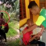 Video Aniaya Warga Emas. 4 Remaja Tampil Mohon Maaf.