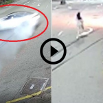 Detik Kemalangan Maut Kereta Terbabas Dirakam CCTV