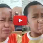 Video Budak Lelaki Marah Otak & Mulutnya Kerana Gagal Mengira. LUCU!