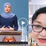 (Video) Lebih 153 Ribu Tontonan, Adibah Noor Betulkan Sebutan Perkataan 'Doubt' Rina Harun Dalam Ucapan PBB
