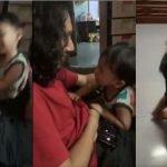 (Video) Terhibur, Akibat Berambut Panjang, Anak Buah Sangka Lelaki Ini Adalah Ibunya