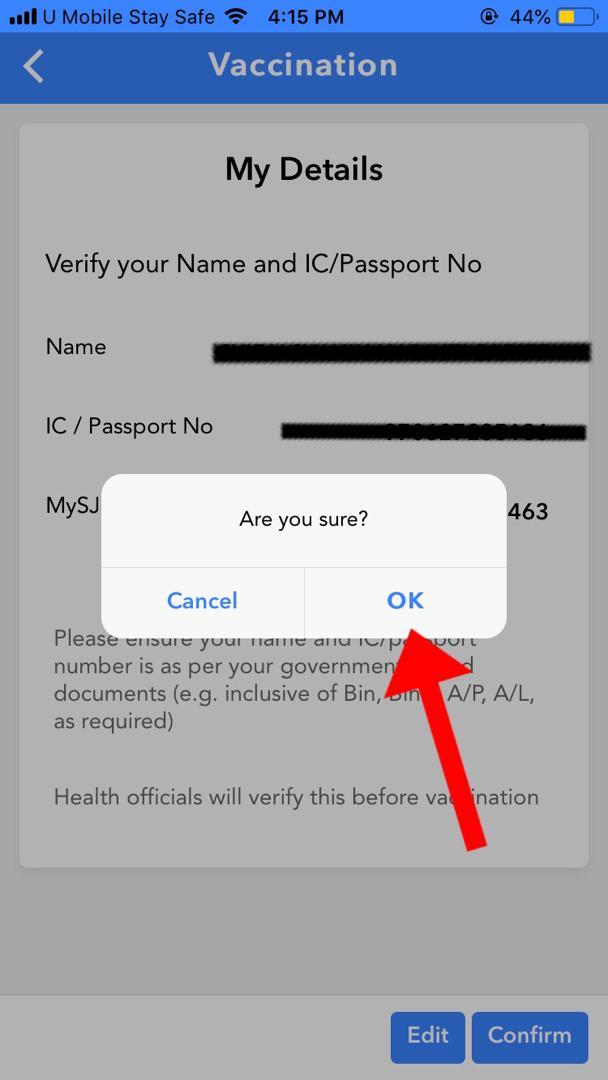 Kemaskini Aplikasi MySejahtera Untuk Mendaftar Bagi Mendapatkan Vaksin Covid-19