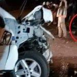 Wanita Keguguran, Pegawai Polis Parah Terlibat Kemalangan