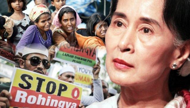 Ini Yang Etnik Rohingya Lakukan Susulan Pemimpin Politik Myanmar Ditahan Tentera