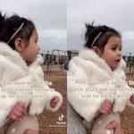 (Video) Lahir 'Tahun 2020', Anak Kecil Ini 'Tercengang' Nampak Ramai Orang Di Taman Permainan