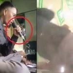 Insiden Malang Mikrofon Meletup Ketika Asyik Berkaraoke. Ada Video
