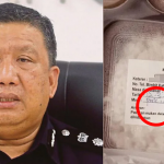 Dibekalkan Makanan Daging Babi. Ini Penjelasan Polis.