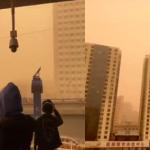 MENYERAMKAN. Langit Beijing Bertukar Warna Oren. ADA VIDEO.