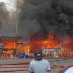 Kebakaran Di Pasar Besar Datuk Keramat. ADA VIDEO.