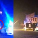 Pandu Lori Secara Berbahaya. Polis Terpaksa Tembak Tayar.