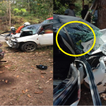 Seorang Maut, Tiga Cedera Kereta Terlibat Kemalangan