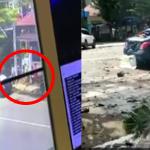 Video Detik-Detik Bom Meletup Di Hadapan Gereja.