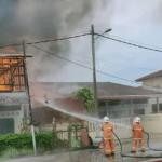 Terperangkap Dalam Kebakaran, Dua Beranak Ditemui Rentung